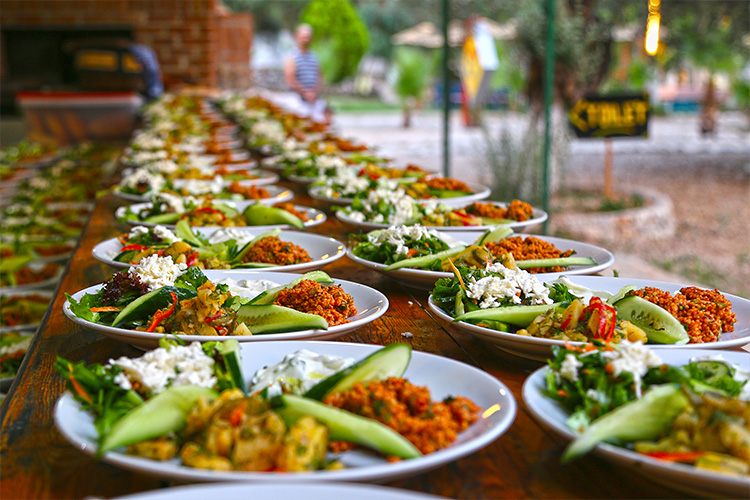 Restaurant catering business