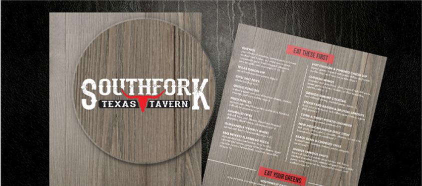 restaurant menu design tips - logo